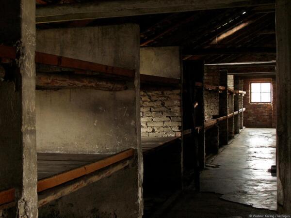 Польша. Освенцим. Концентрационный лагерь Аушвиц-II (Биркенау)