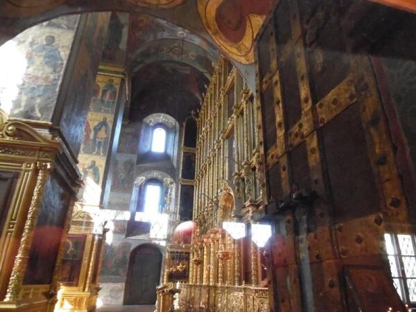 Интерьер Преображенского собора