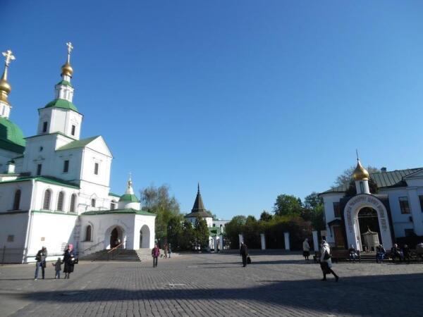 Виды Данилова монастыря
