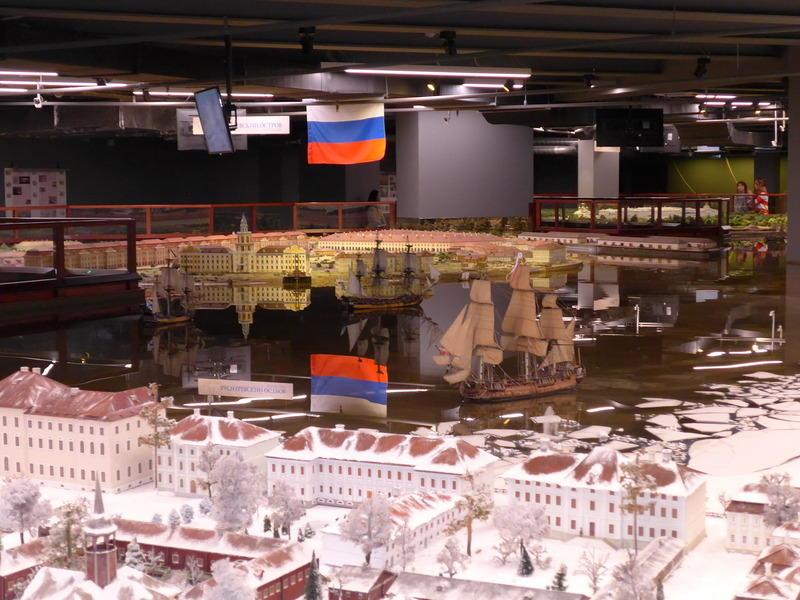 Хотите увидеть Санкт-Петербург 18 века? Посетите музей-макет «Петровская акватория»