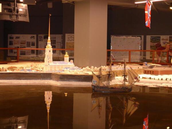 Петропавловская крепость с собором