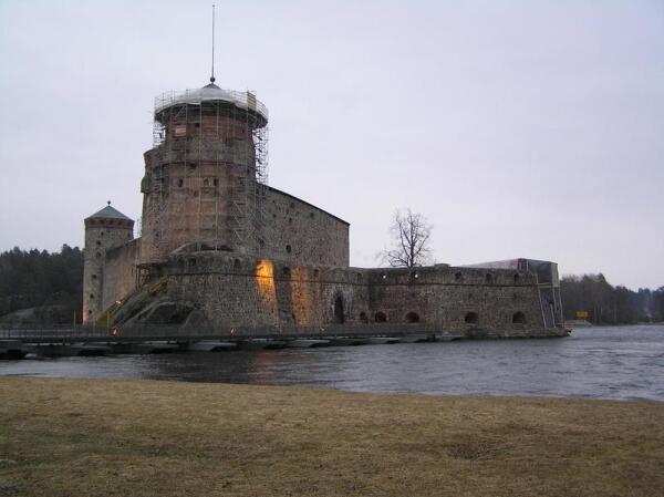 Крепость со стороны воды
