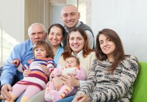 На какие лагеря поделена ваша семья?