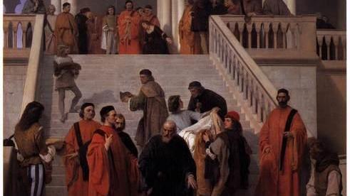 Чей портрет во Дворце дожей покрыт чёрной краской? Марино Фальеро: историческая личность и образ в искусстве