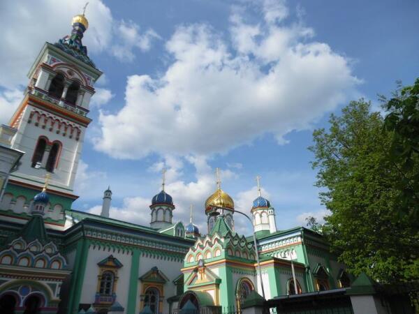Виды на храмы