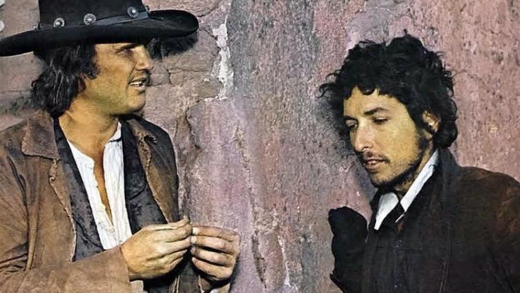 Боб Дилан (справа) в вестерне «Пэт Гэрретт и Билли Кид».