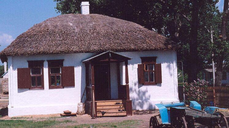 Домик на хуторе Кружилин, где родился Шолохов