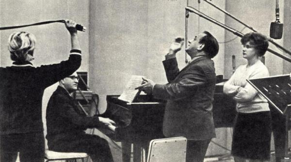 Николай Гордеев и Валентин Родин в студии