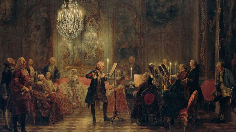 «Концерт в Сан-Суси» 1850-52