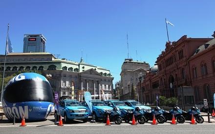 Полицейские машины готовы к любым неожиданостям