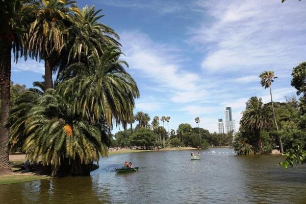 В одном из парков Буэнос-Айреса