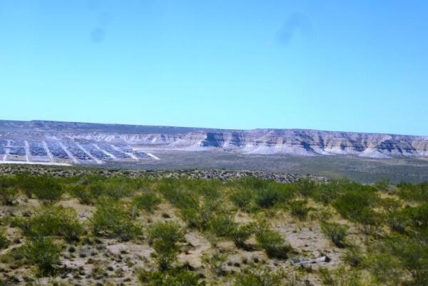 Пампа взбирается на холмы и продолжается до самого края земли
