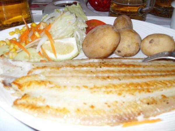 Папас арругадас с рыбой