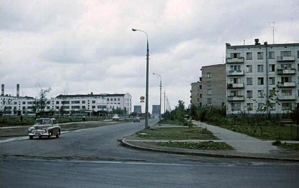 Улица Бирюсинка, Москва, 1971 год