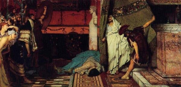Альма Тадема сэр Лоуренс, Римский император, 41 год н.э., 1871, частная коллекция