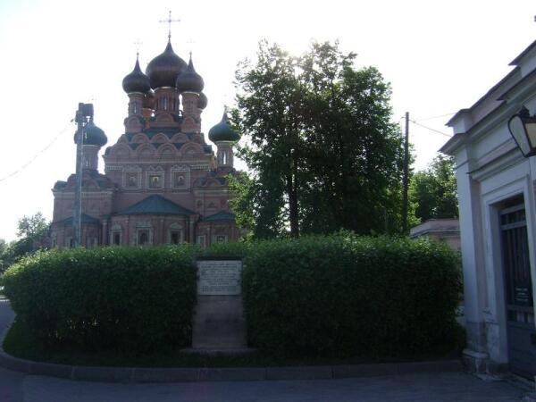 Церковь в Останкино