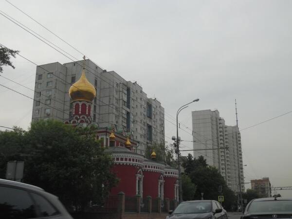 Храм Нечаянная радость