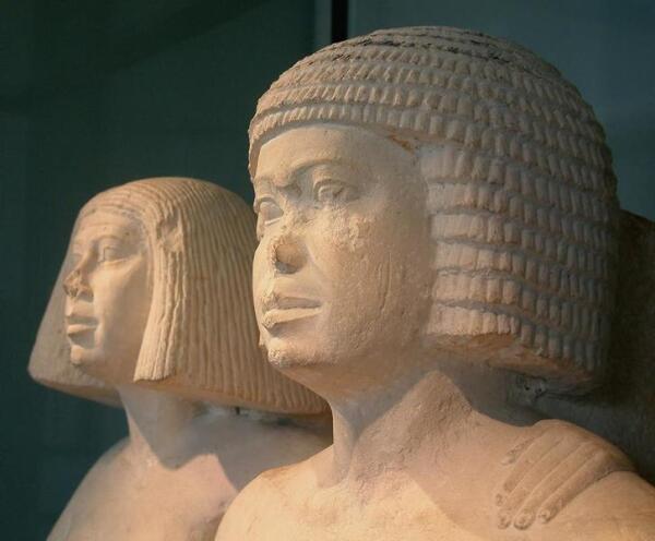 Древнеегипетская пара.