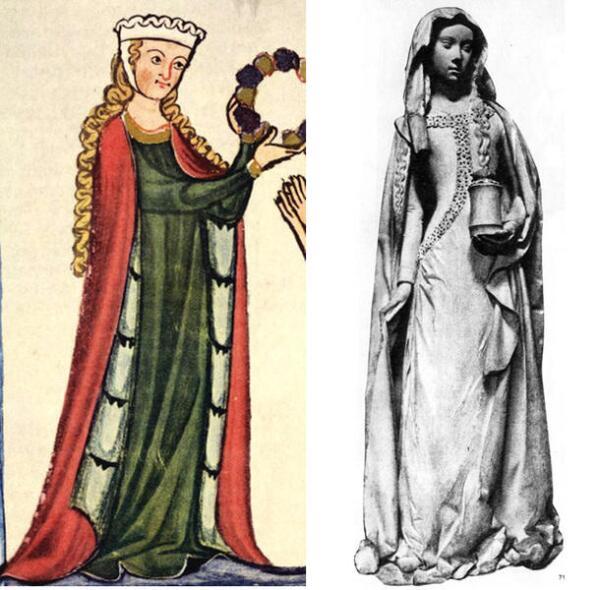 Средневековые дамы.