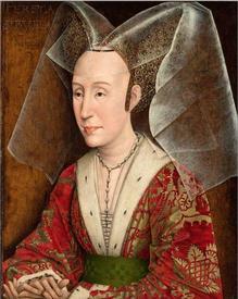 Рогир ван дер Вейден. Изабелла Португальская. 1445.