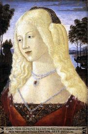 Нероччо де Ланди. Портрет дамы. 1485.
