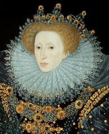 Уильям Сегар. Портрет Елизаветы I. 1585.