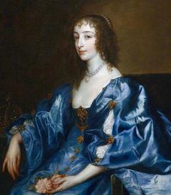 Антон ван Дейк. Генриетта Мария Французская. 1630-е.
