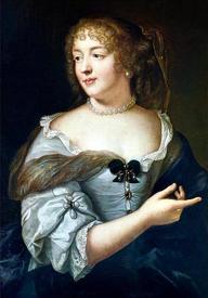Клод Лефевр. Портрет маркизы де Севинье. 1665.