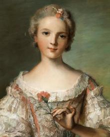 Жан-Марк Натье. Мадам Луиза де Франс.