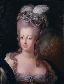 Королева Мария-Антуанетта в 1775 году.