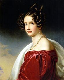 Йозеф Карл Штилер. Софи, эрцгерцогиня Австрии. 1832.