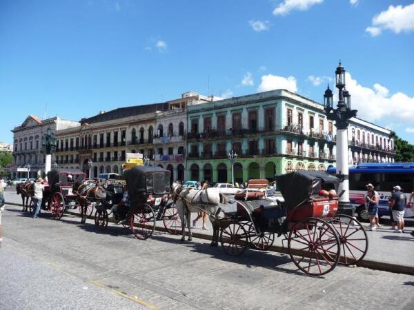 Центральная площадь в Гаване