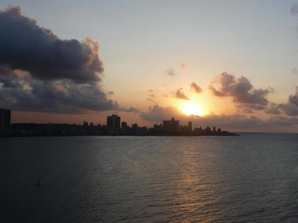 Гавана на закате