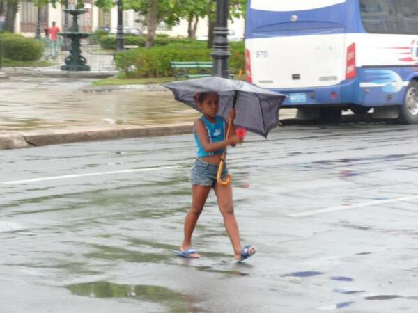 Дождь в Сьенфуэгосе