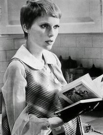 Миа Фэрроу в к-ф «Ребенок Розмари» (1968).
