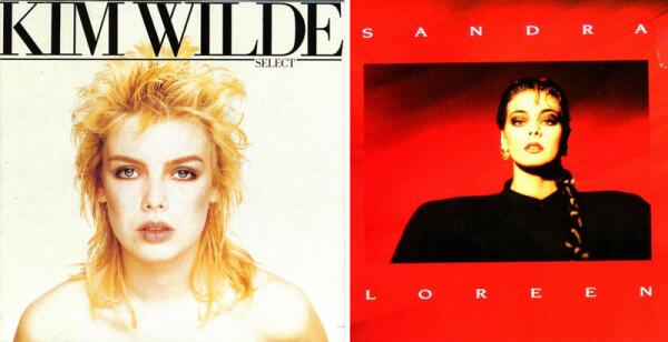 Ким Уайлд и Сандра.