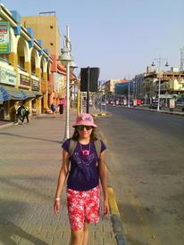Центральная улица Хургады