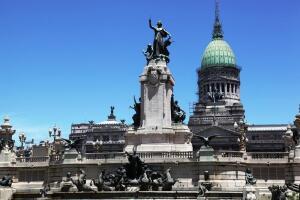 Путешествие в Аргентину. Что посмотреть в Буэнос-Айресе? Дворец Конгресса и Площадь Конгресса
