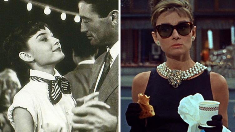 Образы Одри Хепберн в к-ф «Римские каникулы» (1954) и «Завтрак у Тиффани» (1961)