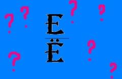 Седьмое место в русском алфавите, или Как мы относимся к букве Ё?