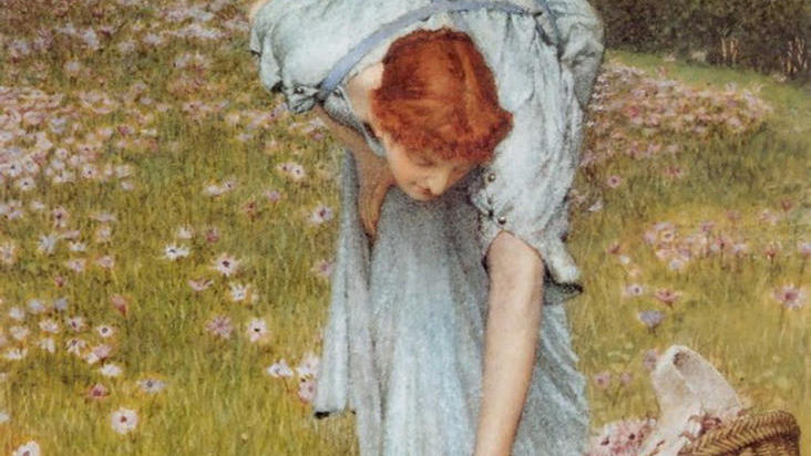 Фрагмент картины «Весна в садах виллы Боргезе»