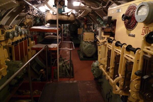 Подводная лодка, музей