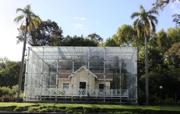 Дом на консервации или это музейный экспонат?