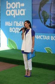 Снежина Кулова, презентация программы BonAqua «Мы пьем воду»