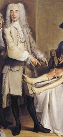 Корнелис Трост, Урок анатомии доктора Виллема Рюэля, фрагмент «Доктор Виллем Рюэль»