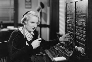 Кто такие были телефонные барышни?