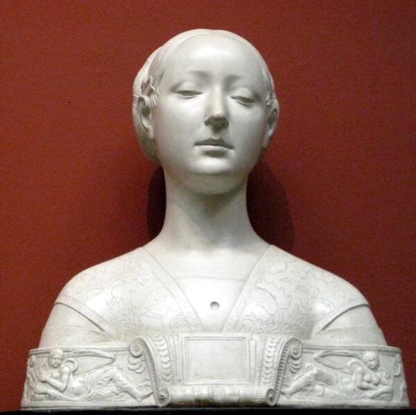 Женский бюст 1472 г.