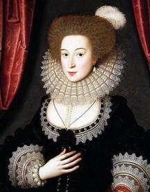Уильям Ларекин. Портрет Мари Рэдклифф. 1610.