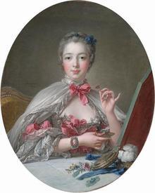 Франсуа Буше. Маркиза де Помпадур. XVIII век.
