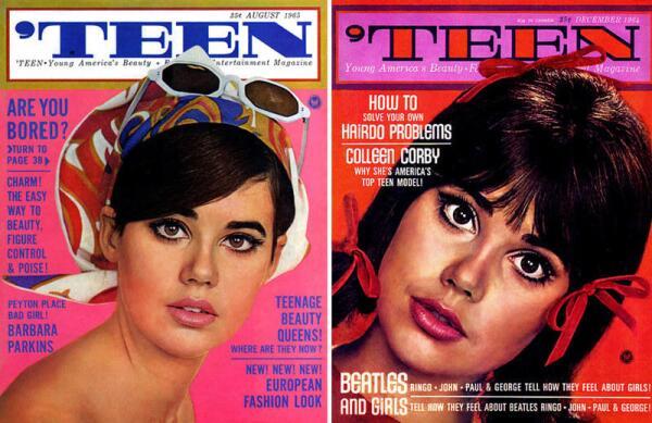 Модель 1960-х - Коллин Корби.